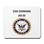 USS CHIWAWA Mousepad