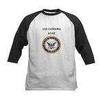 USS CHIWAWA Kids Baseball Jersey