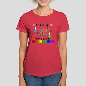 SCIENCE-Fear Me Women's Dark T-Shirt