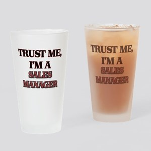 Trust Me, I'm a Sales Manager Drinking Glass