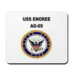 USS ENOREE Mousepad