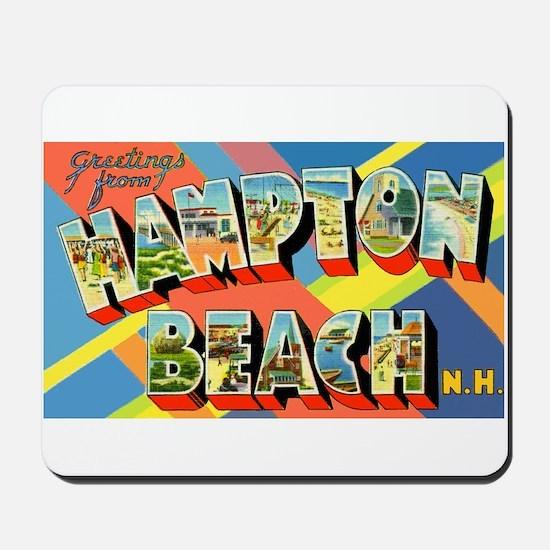 Hampton Beach New Hampshire Mousepad