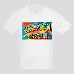 Hampton Beach New Hampshire (Front) Kids T-Shirt