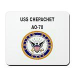 USS CHEPACHET Mousepad