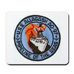 USS ALLAGASH Mousepad