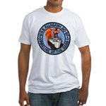USS ALLAGASH Fitted T-Shirt
