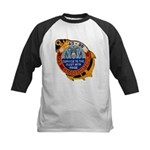 USS CALOOSAHATCHEE Kids Baseball Jersey