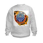 USS CALOOSAHATCHEE Kids Sweatshirt