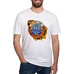 USS CALOOSAHATCHEE Fitted T-Shirt