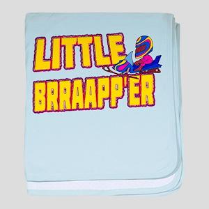 Little Brraapp'er baby blanket