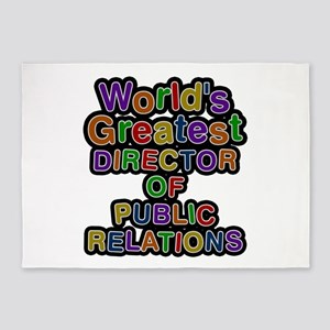 World's Greatest DIRECTOR OF PUBLIC RELATIONS 5'x7
