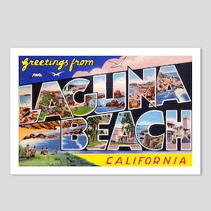 Laguna Beach California Greetings Postcards (Packa