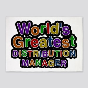 World's Greatest DISTRIBUTION MANAGER 5'x7' Area R