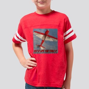 Fly It Edged Youth Football Shirt