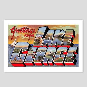 Lake George Greetings Postcards (Package of 8)