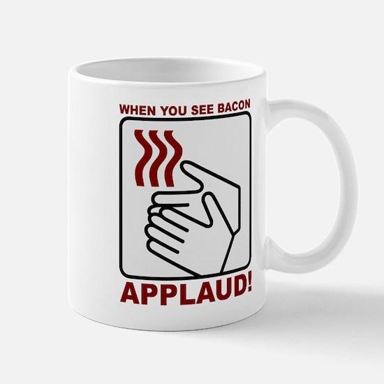 Applaud Bacon Mugs