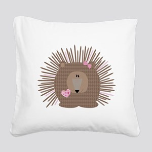 Cafepress woodland-09 Square Canvas Pillow