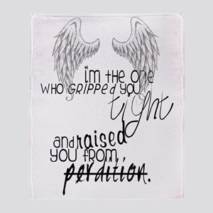 raised from perdition Throw Blanket
