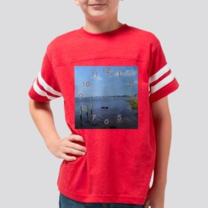 clk_pilings_ Youth Football Shirt