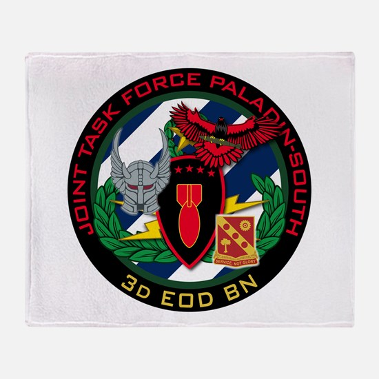 3d EOD JTF Paladin-South Throw Blanket