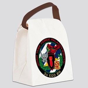 3d EOD JTF Paladin-South Canvas Lunch Bag