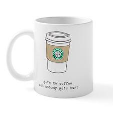 gimme coffee mug