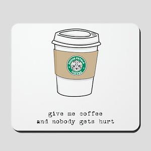 gimme coffee mousepad