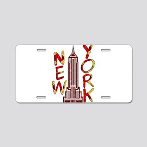 Empire State Building 2f Aluminum License Plate