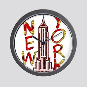 Empire State Building 2f Wall Clock