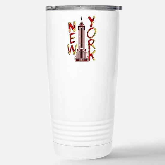 Empire State Building 2f Travel Mug