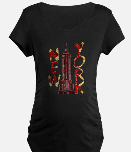 Empire State Building 2f Maternity T-Shirt
