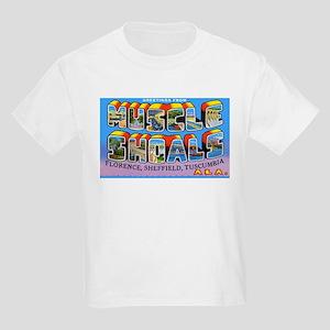 Muscle Shoals Alabama (Front) Kids T-Shirt