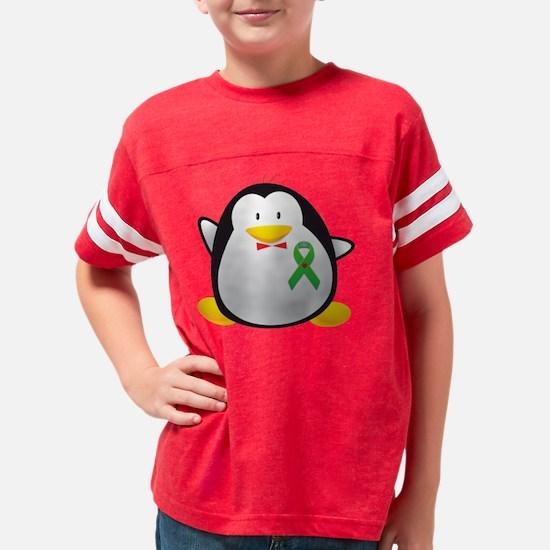 green Youth Football Shirt