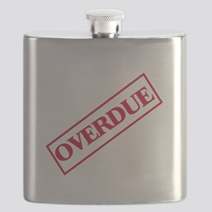 Overdue Stamp Flask