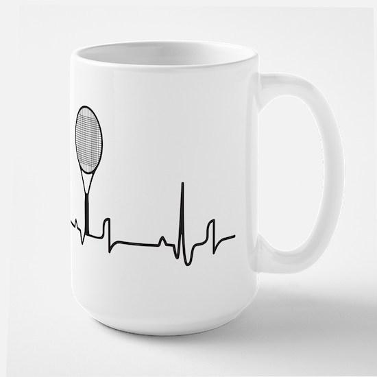 Tennis Heartbeat Mug