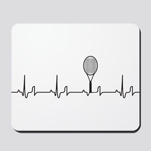 Tennis Heartbeat Mousepad