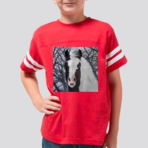 paint horse Youth Football Shirt