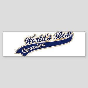 Worlds Best Grandpa Sticker (Bumper)