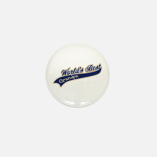 Worlds Best Grandpa Mini Button
