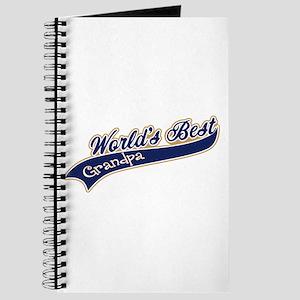 Worlds Best Grandpa Journal