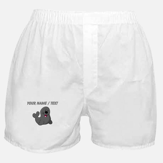 Custom Baby Seal Boxer Shorts
