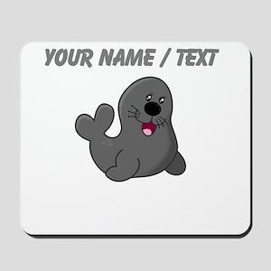 Custom Baby Seal Mousepad