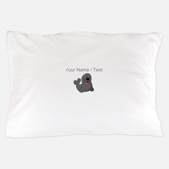 Custom Baby Seal Pillow Case
