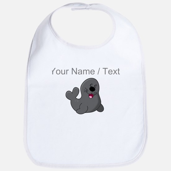 Custom Baby Seal Bib