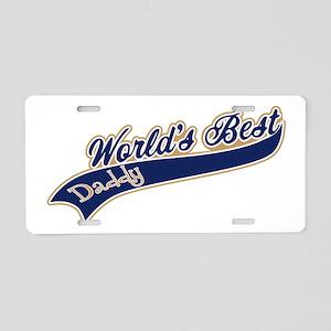 Worlds Best Daddy Aluminum License Plate