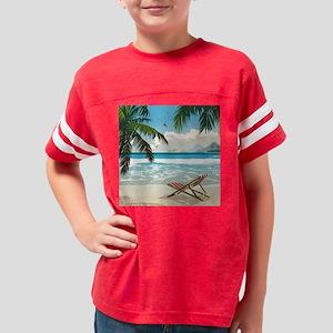 Day at the Beach Youth Football Shirt