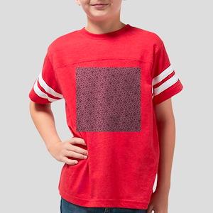 Stylish Pink Pattern Youth Football Shirt