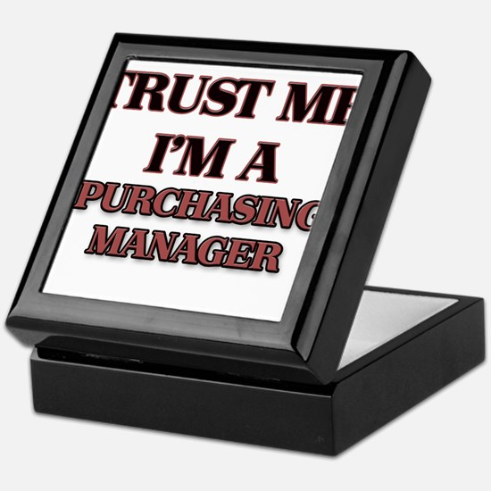 Trust Me, I'm a Purchasing Manager Keepsake Box