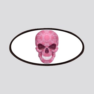 Pink Camouflage Skull Patches