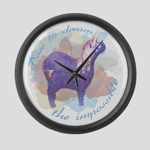 Dare to Dream The Impossibe Unicorn Large Wall Clo